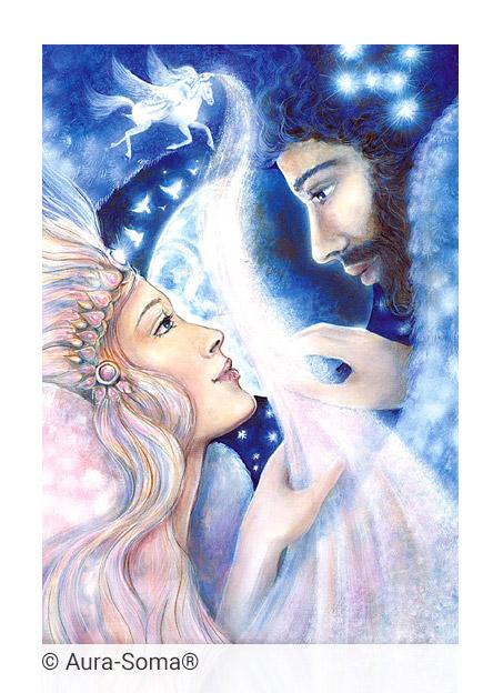 Aura-Soma® Bild: Angelika und Orion