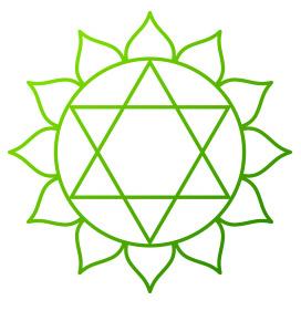 Symbol des Herzchakras